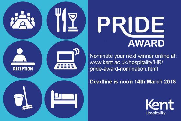 PRIDE Awards poster