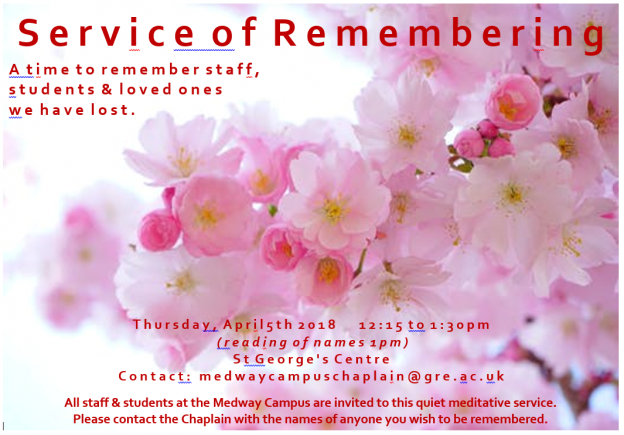 Medway Service of Remembering