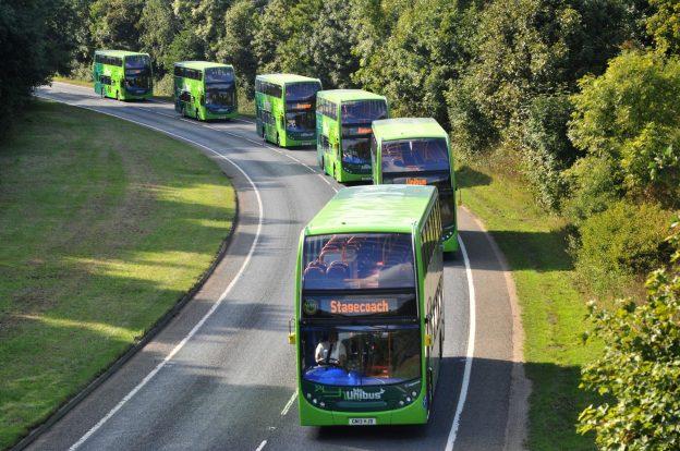 Stagecoach -Unibus convoy (no cars)