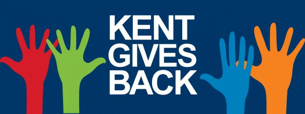 Kent Gives Back Logo
