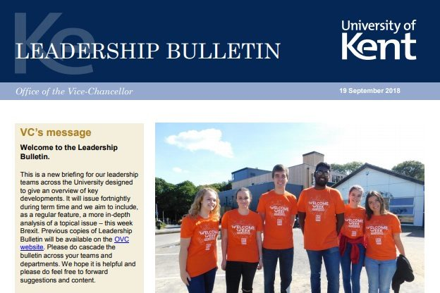 Leadership Bulletin September 18