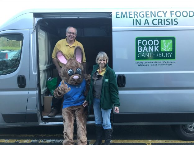 Kent Bunny - Canterbury Food Bank