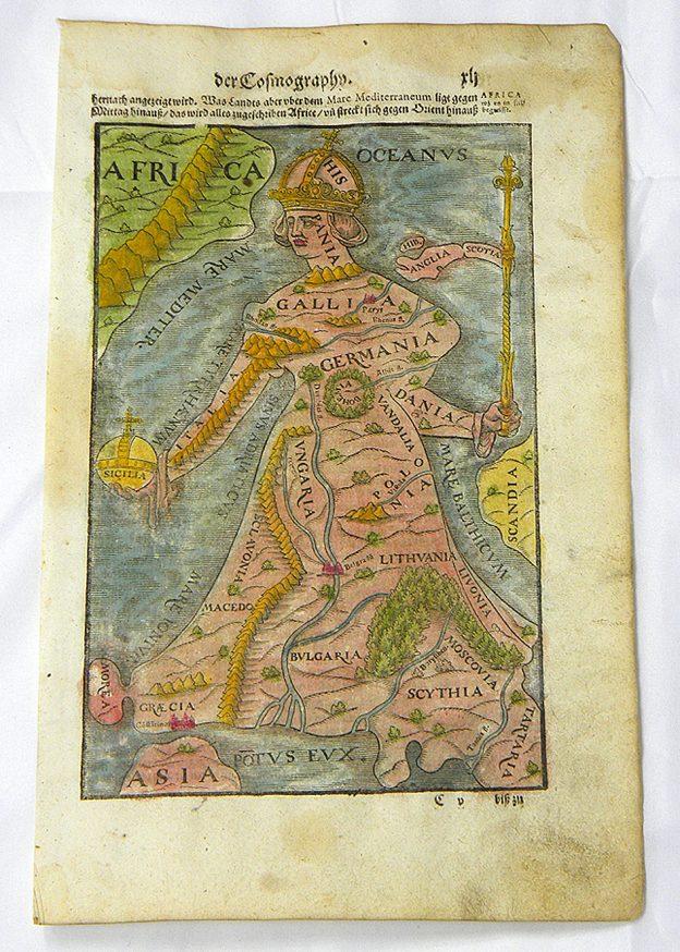 Regina Europa from Cosmographia