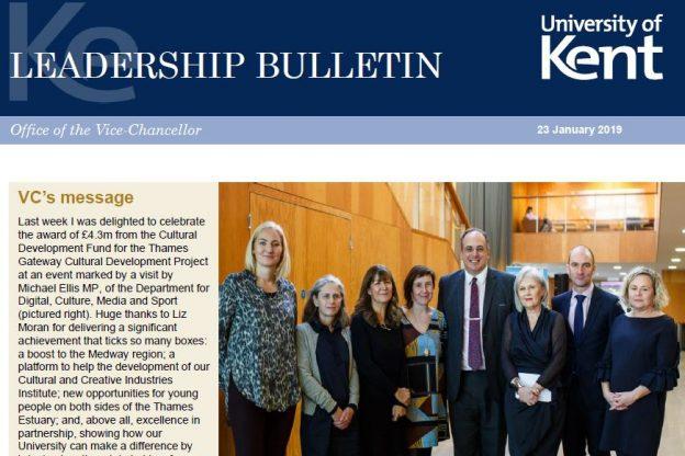 Leadership Bulletin 23.1.19