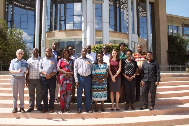 Group photo of ICC Intervention in Kenya workshop