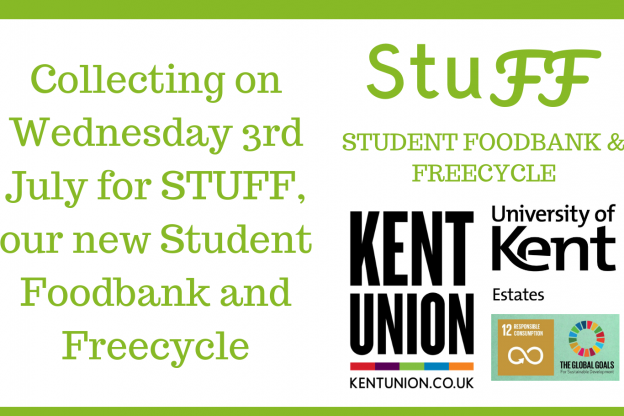 Stuff Student Foodbank And Freecycle Collection 3 July 2019