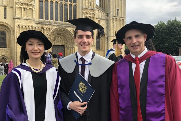 James Merrington Caroline Li and Professor Ian McLoughlin