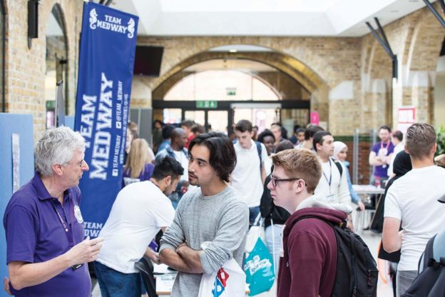 Medway campus welcome