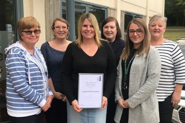 Estates Customer Service Excellence award