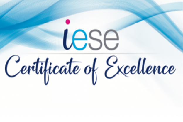 iese certificate of excellence