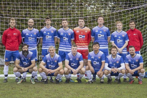 University of Kent Community Cup staff team