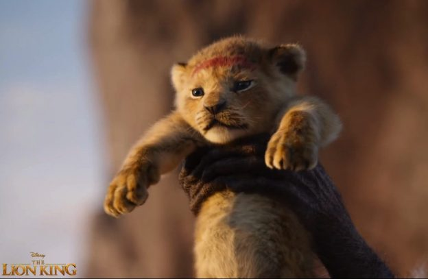 The Lion King image from 2020 film