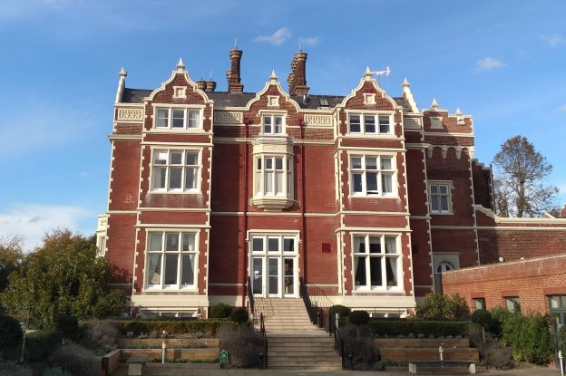 Wivenhoe House on the University of Essex Campus