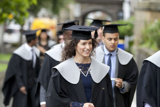 a group of graduates in their graduation clothing