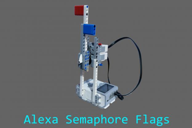 Alexa Semaphore Lego Mindsorms Challenge winner