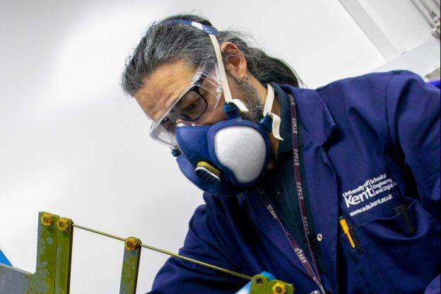 Technician Ayman El-Kharrat