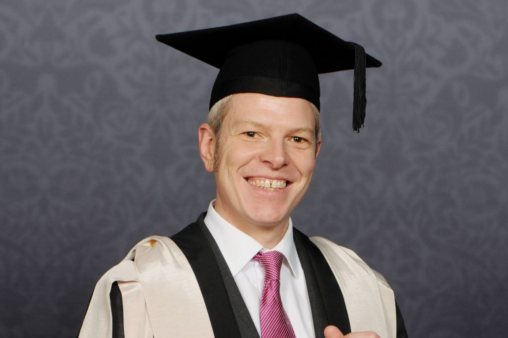 Chris Morrison Graduation Photo