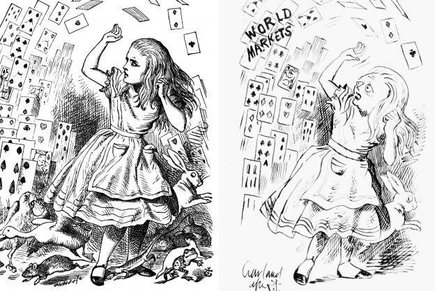 John Tenniel Alice in Wonderland image