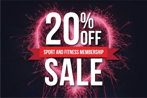Valentines sports membership