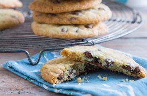 Easy-chocolate-chip-cookies