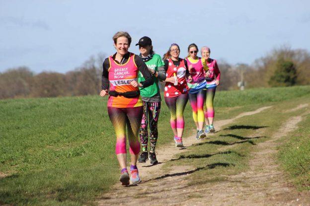half-marathon runners