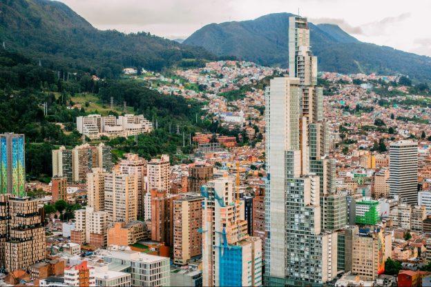 Bogota in Columbia