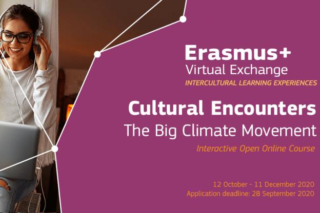Erasmus CE-Big Climate Movement 2020 logo