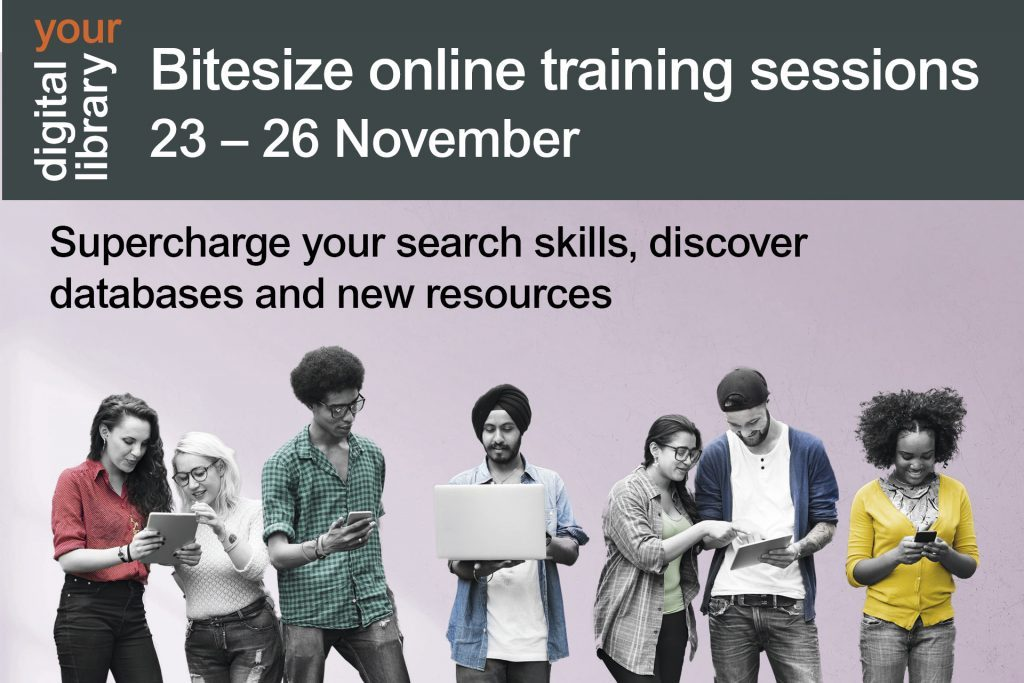 Library bitesize sessions