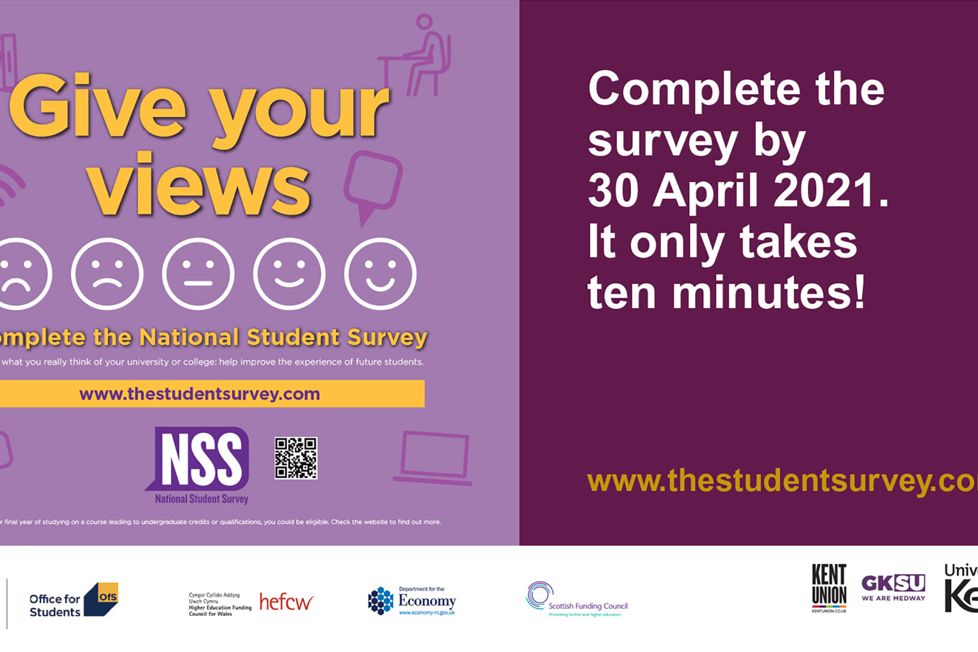 NSS Give your views logo