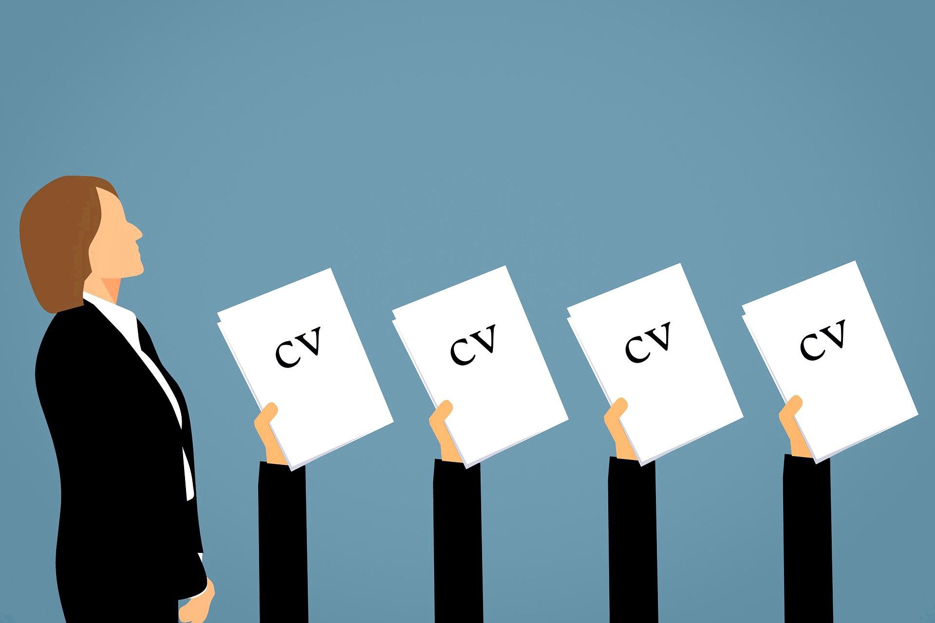 CV graphic