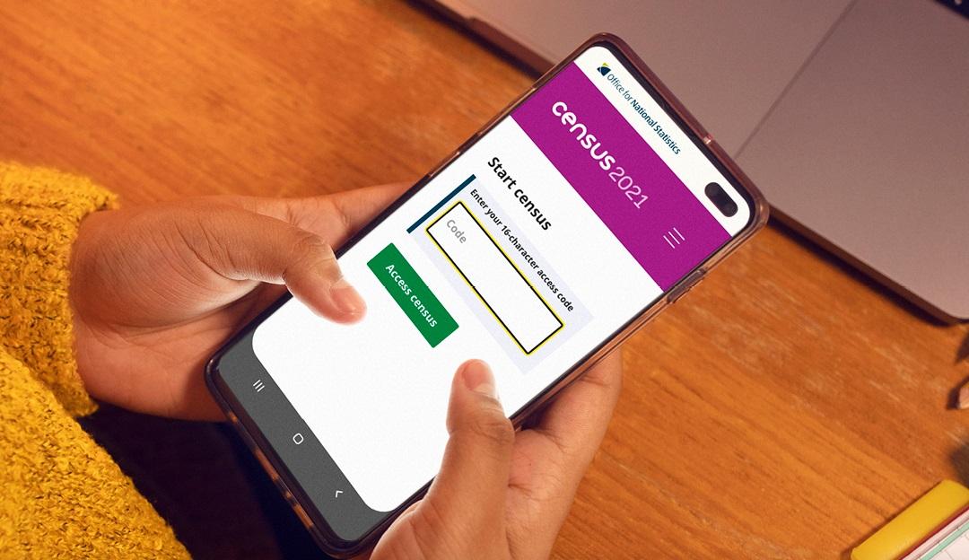 census-on-phone