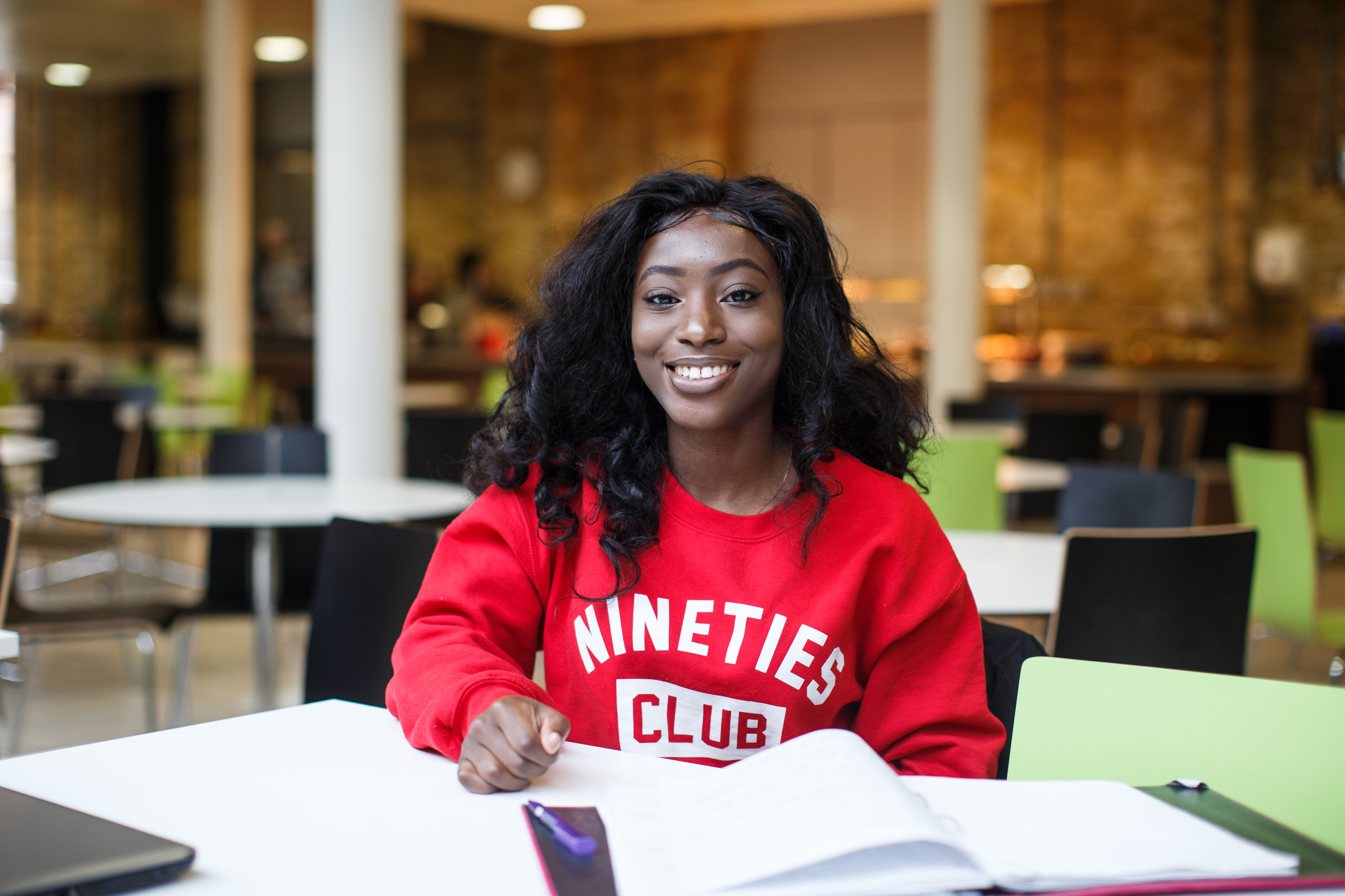 Clearing 2021 campaign - student photo