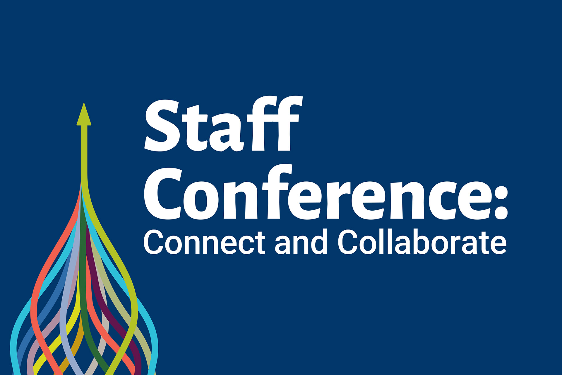 Staff Conference 2021 banner