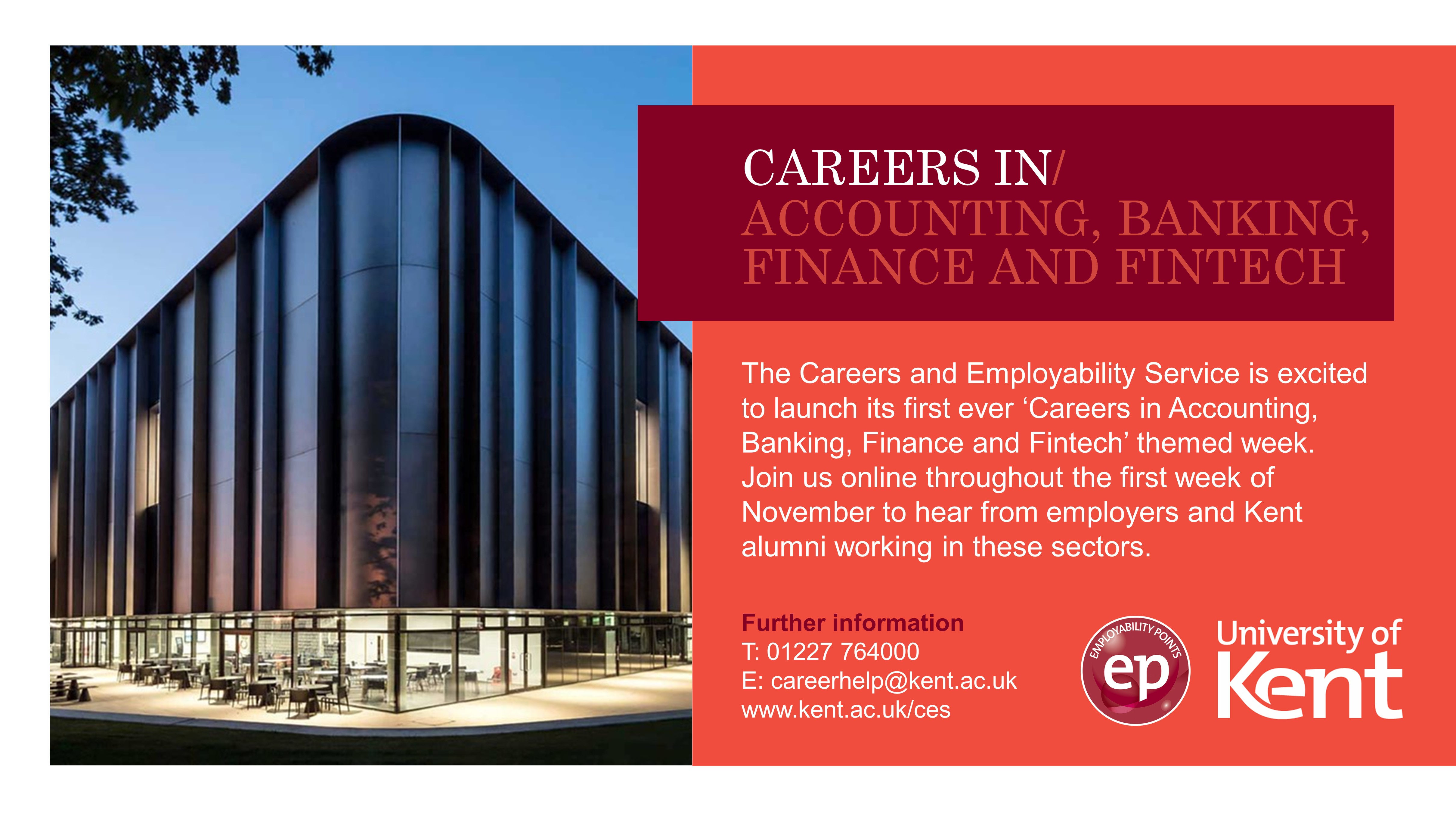 Careers in accounting, banking, finance and fintech