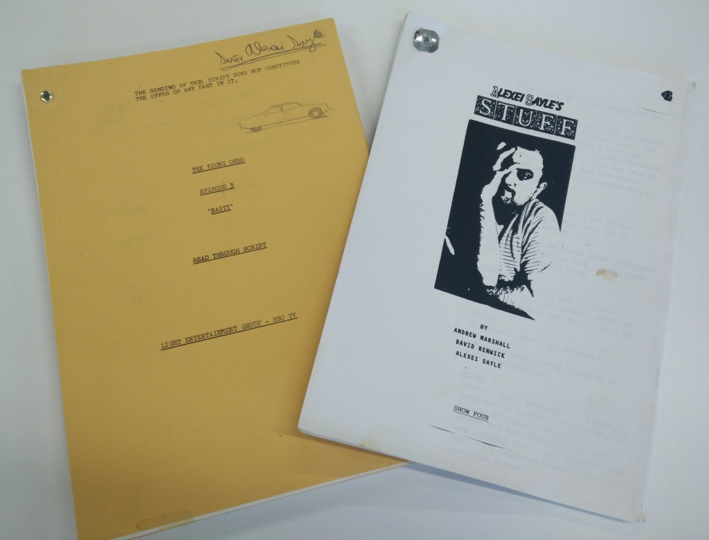 Scripts deposited by Alexei Sayle
