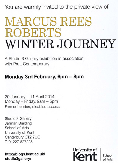Winter Journey – Private View