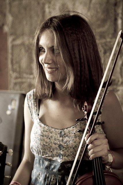 Master's student Hannah Ellerby
