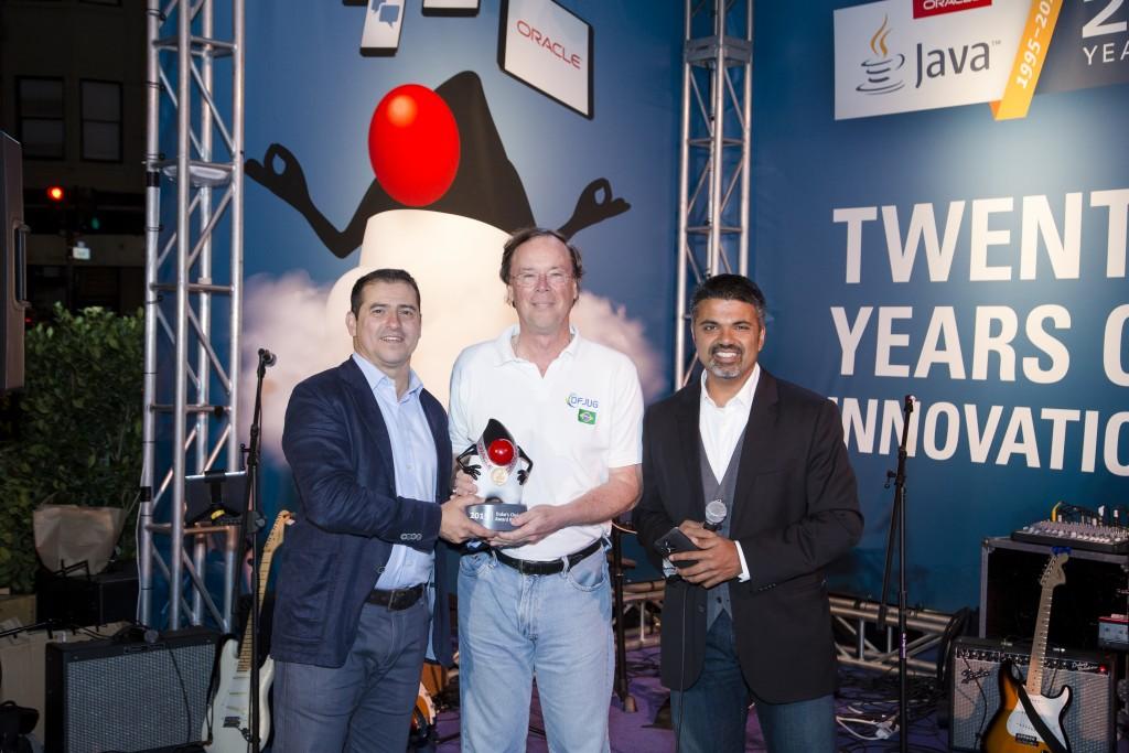 Daniel deOliviera receives the Duke's Choice Award