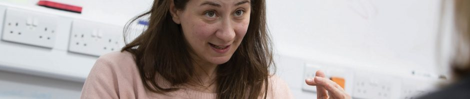 Laura Bocchi lecturing