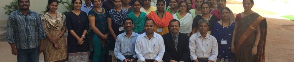 Group of academic staff and PG students in India