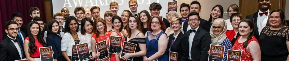 Kent student award group picture 2017