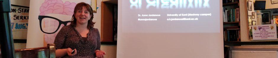 Anna Jordanous Pint of Science talk 2018