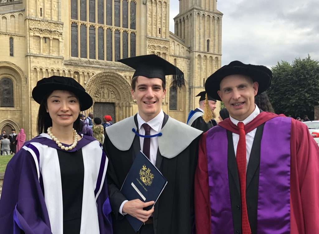 graduation prize at Rochester Cathedral