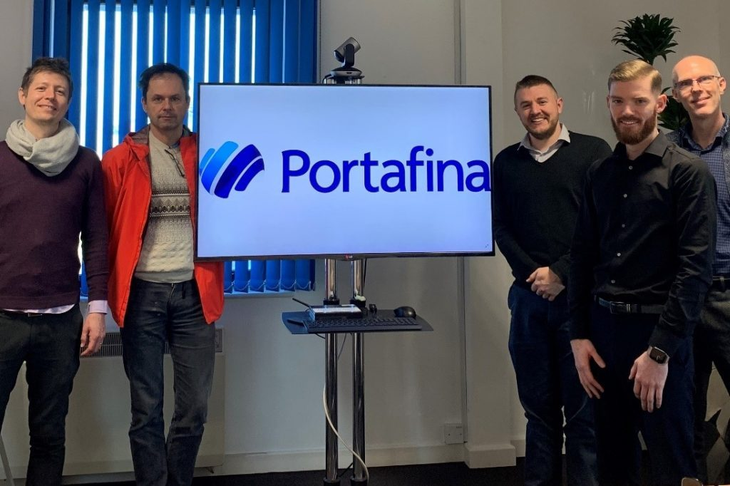 staff from University of Kent and Portafina