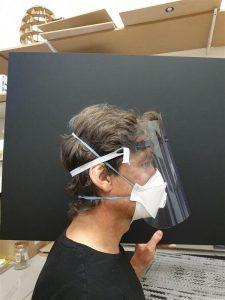 Prototype face shield