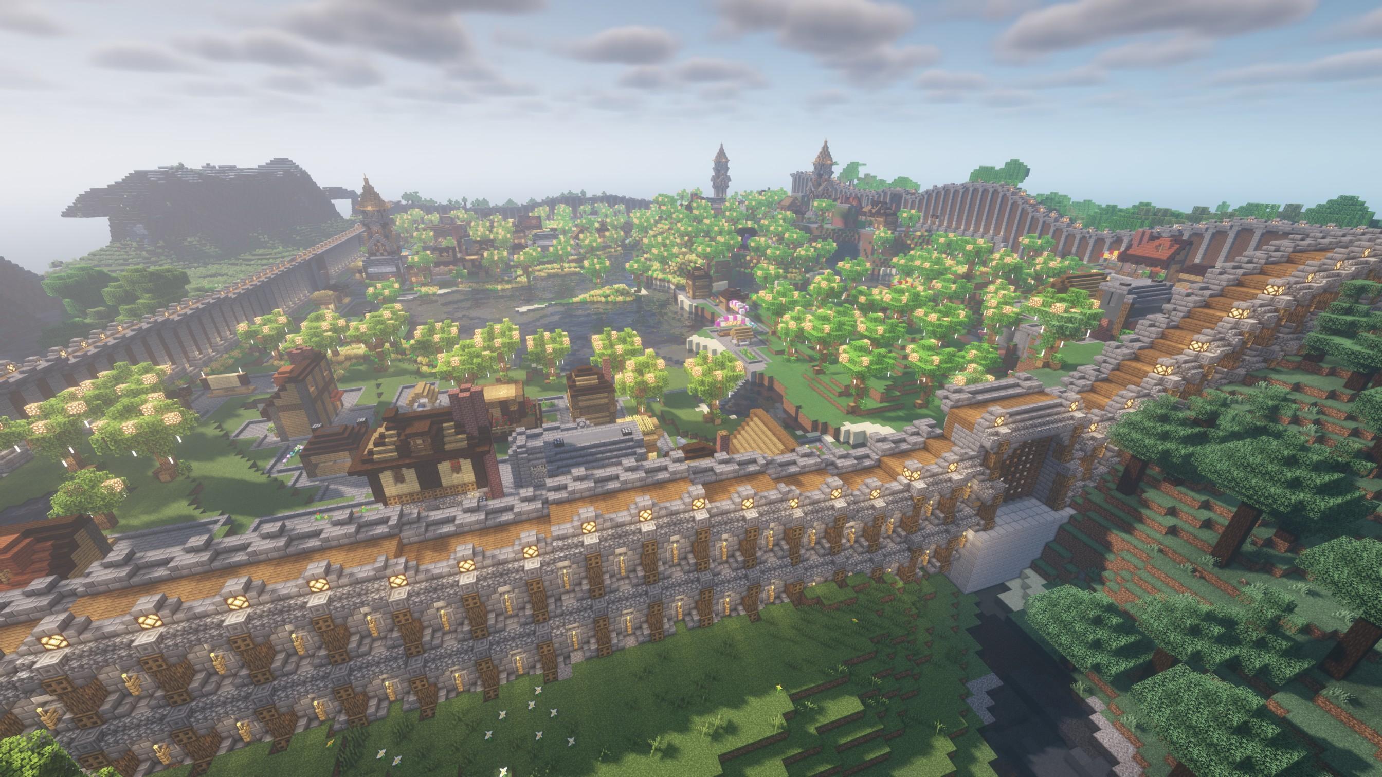 Image of minecraft settlement