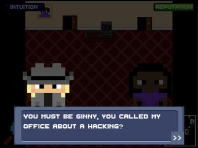 SherLOCKED detective character