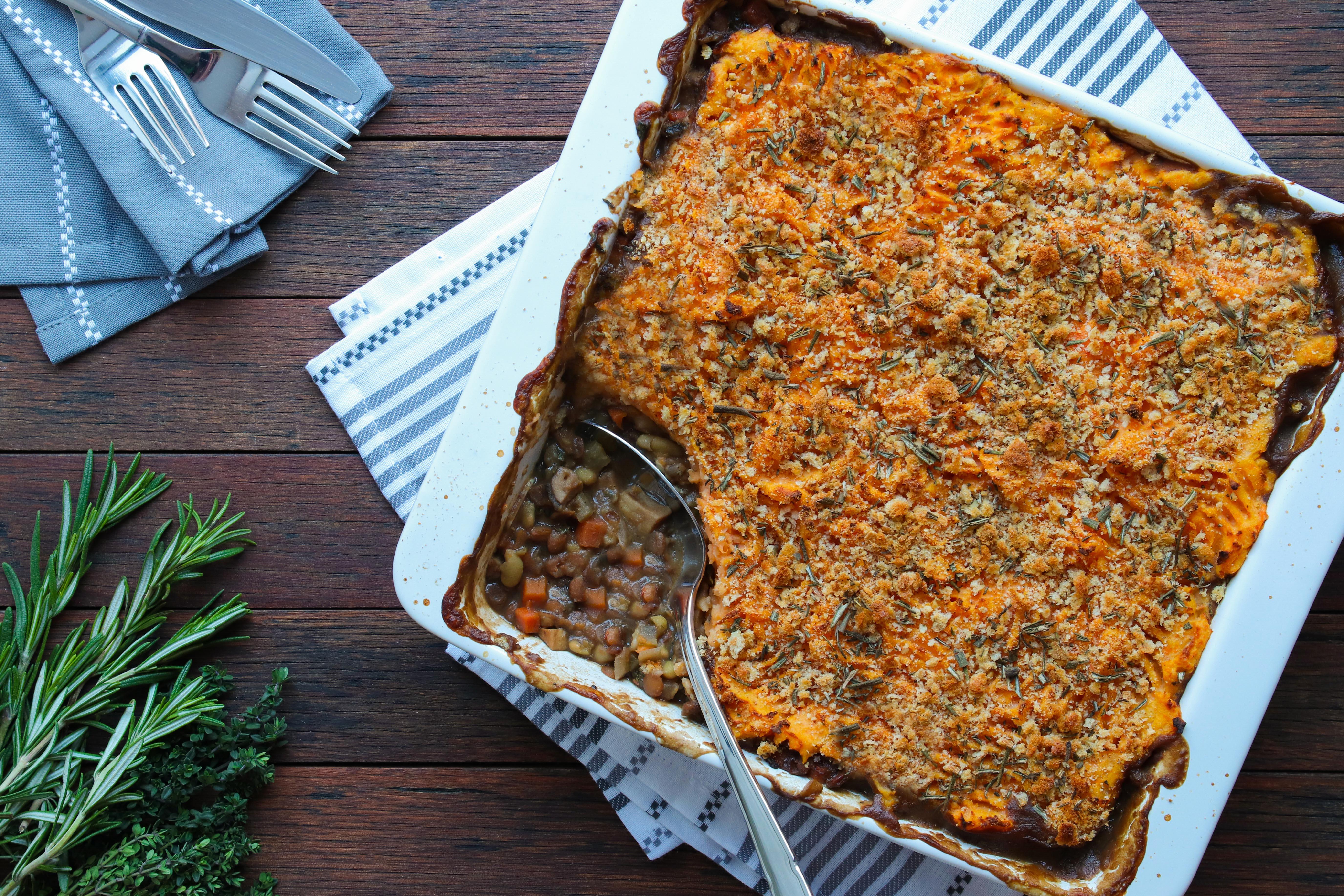 Vegan Shepherd's Pie