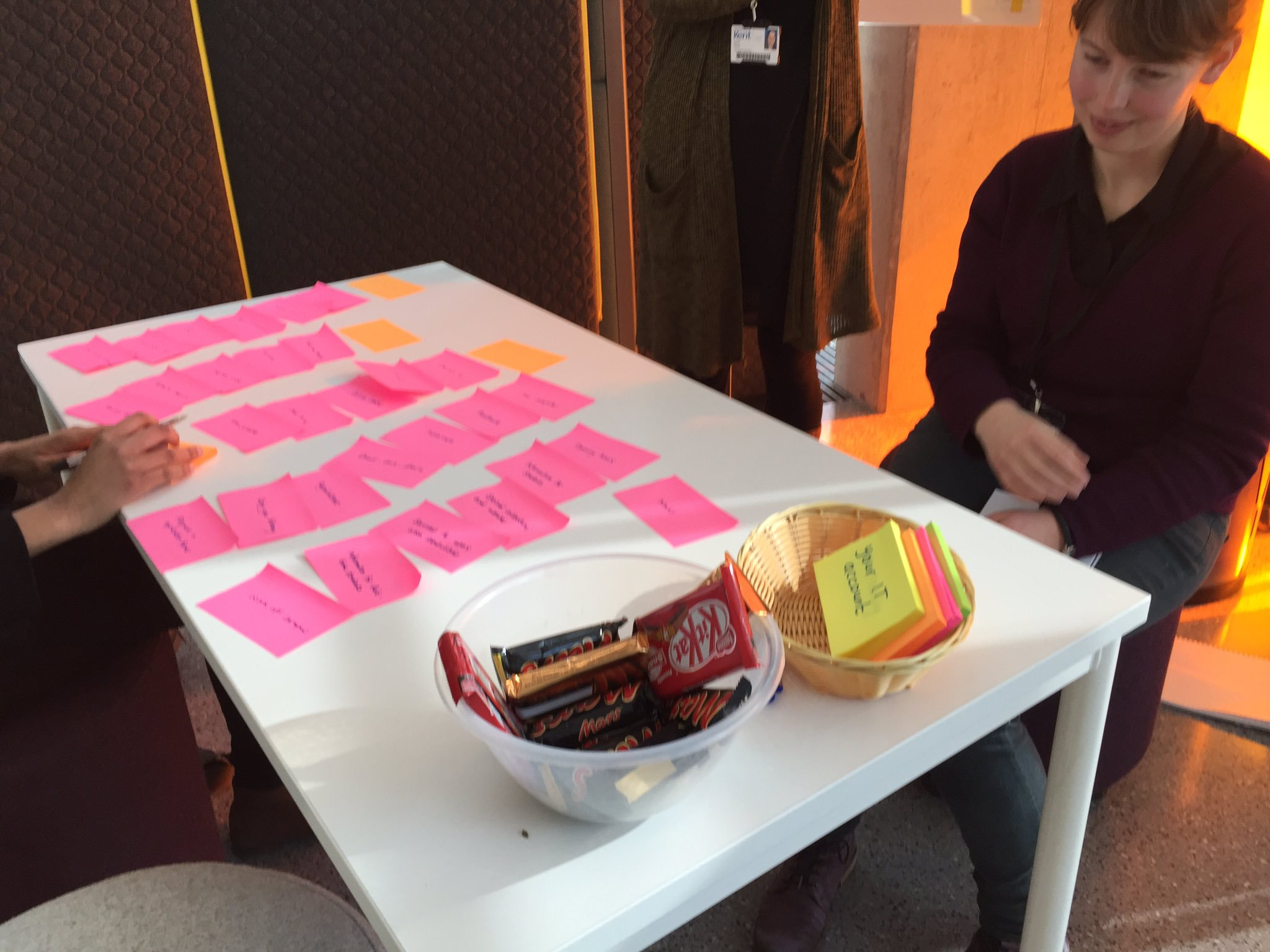 Guerrilla user testing in the library